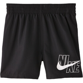 "Nike Swim Logo Solid 4"" Volley Shorts Jongens, black"